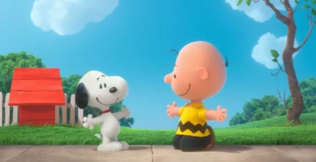 Charlie Brown and Snoopy in 3D