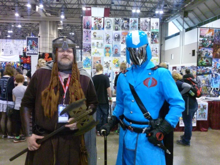 Gimli and Cobra Commander