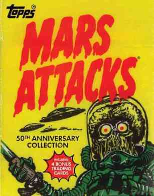 Mars Attacks 50th anniversary book
