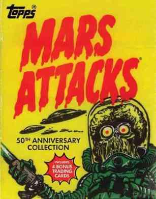 Mars Attacks 50th anniversary book