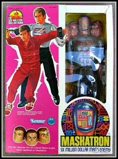 Maskatron figure from the 1970s
