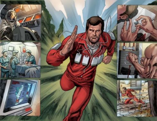 Ramirez interior art Six Million Dollar Man Season Six issue 1
