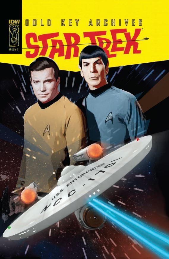 new book collects original gold key star trek series borg