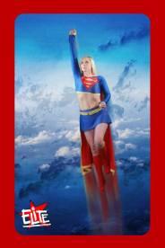 Supergirl Elite card