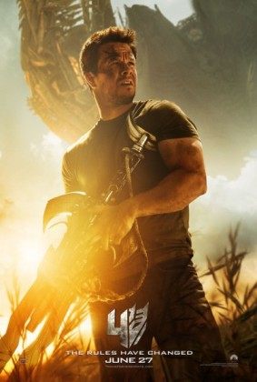 Transformers 4 Age of Extinction poster Mark Wahlberg