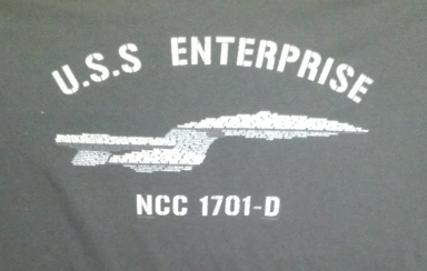 Trek Enterprise-D shirt Elite