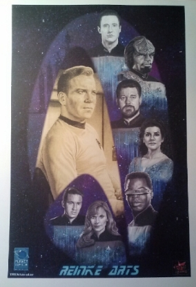 Trektacular Reinke Elite Comics exclusive