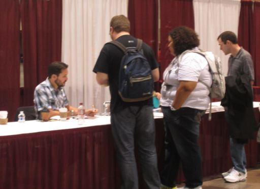 Wil Wheaton at Planet Comicon 2014