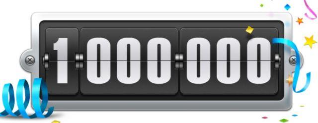 1000000 hits