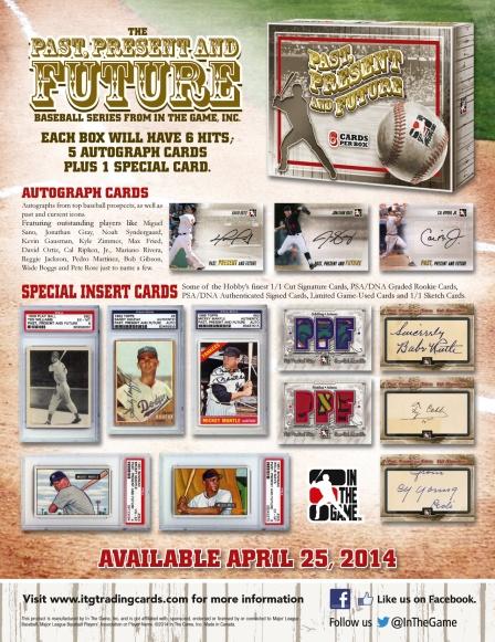 Baseball card promo