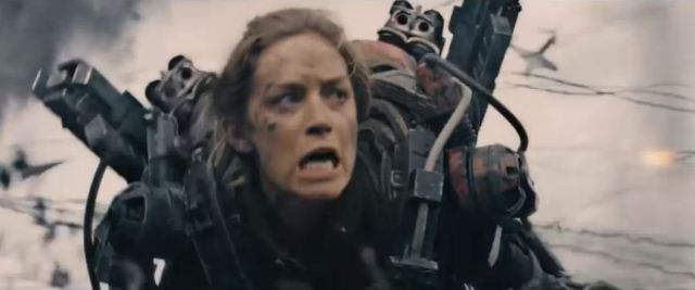 Emily Blunt Rita Vrataski Edge of Tomorrow