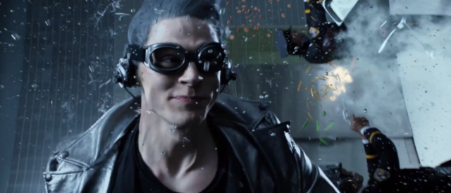Evan Peters QuickSilver Time in a Bottle X-Men Days of Futue Past