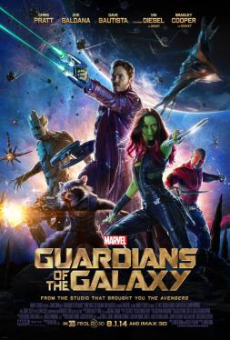 Guardians of the Galaxy new 2014 poster
