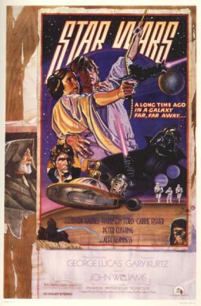 Star Wars circus poster