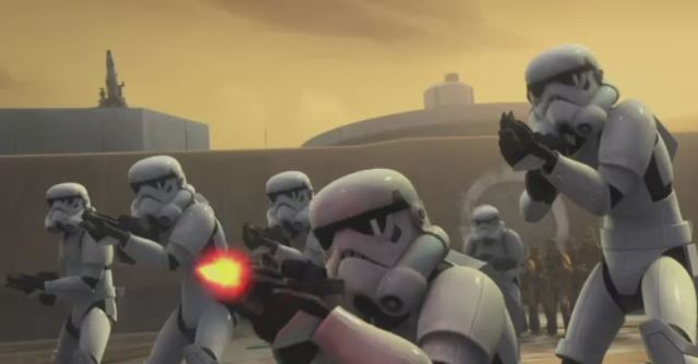 Star Wars Rebels stormtroopers
