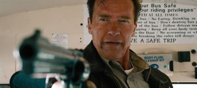 Arnold in The Last Stand