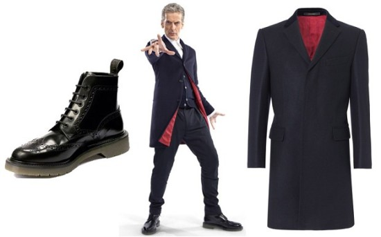 Capaldi as Doctor number 12