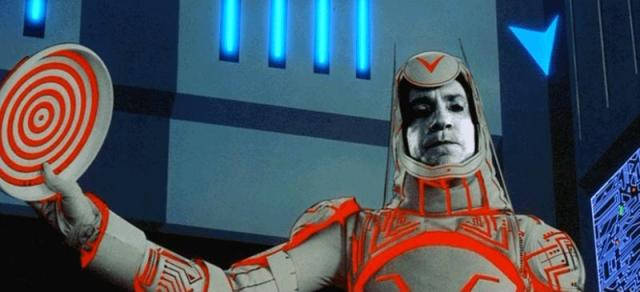 David Warner as Sark in Tron