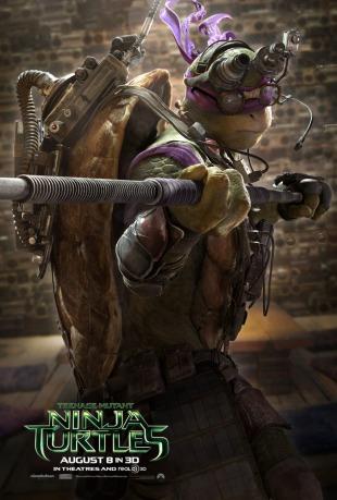Donatello Teenage Mutant Ninja Turtle character poster