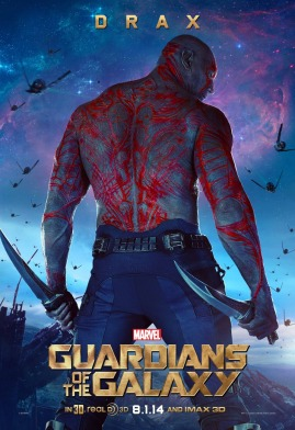 Drax poster Guardians