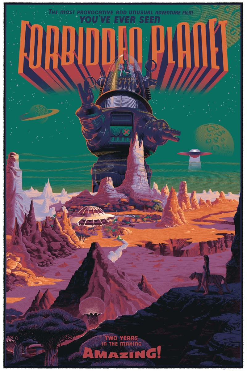 Retro watch–Belgian artist updates classic American film posters ...