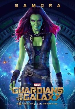 Gamora poster Guardians