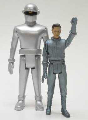 Gort and Klaatu no helmet