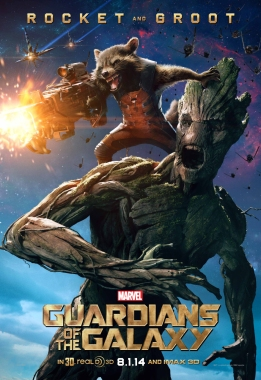 Groot Rocket poster Guardians