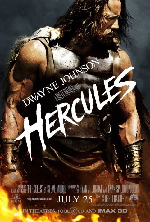 Not to quote Eddie Murphy or anything  but    Hercules  Hercules    Dwayne Johnson Hercules Movie Poster
