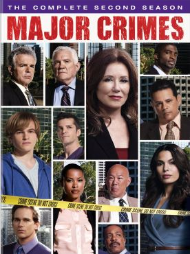 major crimes season 2 dvd cover