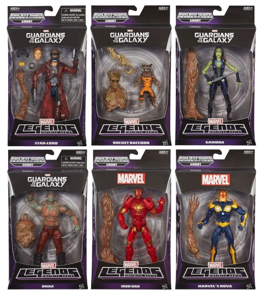 Marvel Legends Guardians of the Galaxy action figures