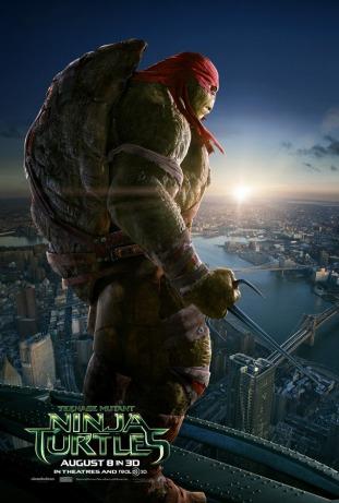 Raphael Teenage Mutant Ninja Turtle character poster