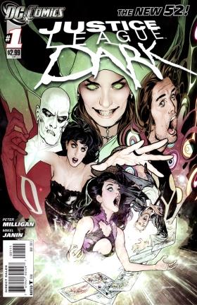 Ryan Sook Justice League Dark 1 cover