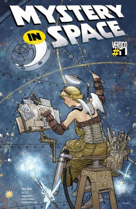 Ryan Sook Mystery in Space 1 cover