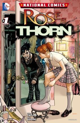 Ryan Sook Rose & Thorn 1 cover