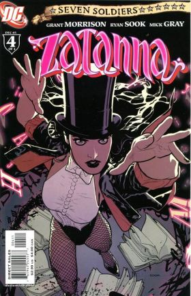 Ryan Sook Zatanna 4 cover
