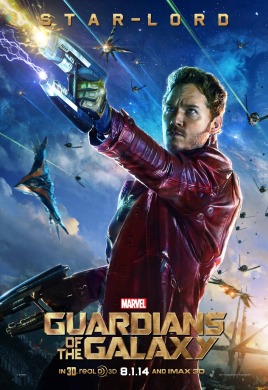 Star-Lord poster Guardians