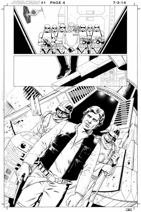 Aaron and Cassaday new Marvel Star Wars SDCC 2014 p2