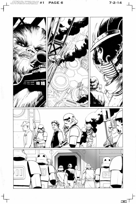 Aaron and Cassaday new Marvel Star Wars SDCC 2014 p3