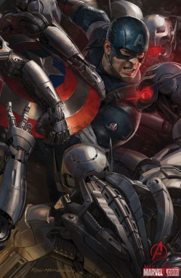 Age of Ultron concept art Cap SDCC 2014