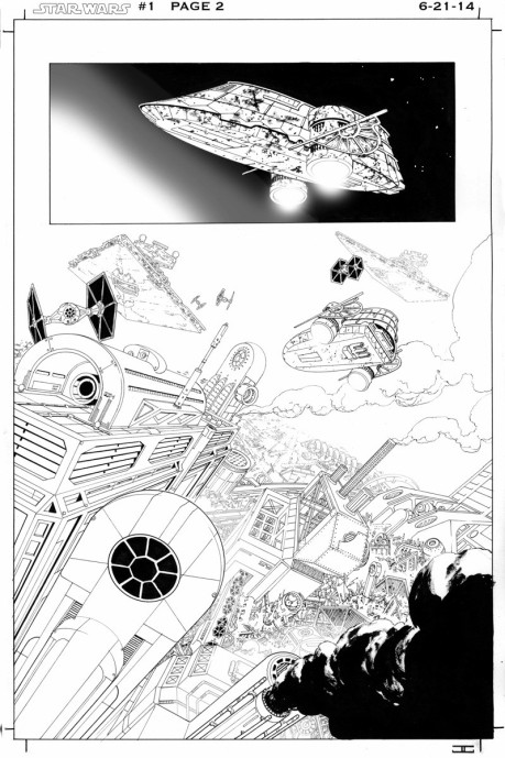 Aaron and Cassaday new Marvel Star Wars SDCC 2014 p1