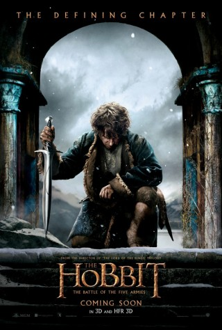 Bilbo The Hobbit Battle of the Five Armies poster SDCC 2014