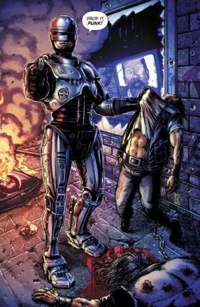BOOM RoboCop #1 cover variant SDCC 2014
