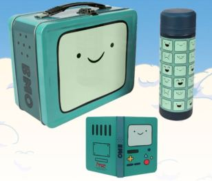 Booth 2343 AdventureTime Ent Earth SDCC 2014 lunchbox