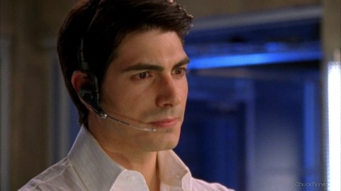 Brandon Routh in Chuck