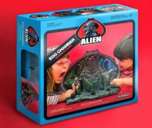 Egg Chamber ReAction Alien playset SDCC 2014 Funko