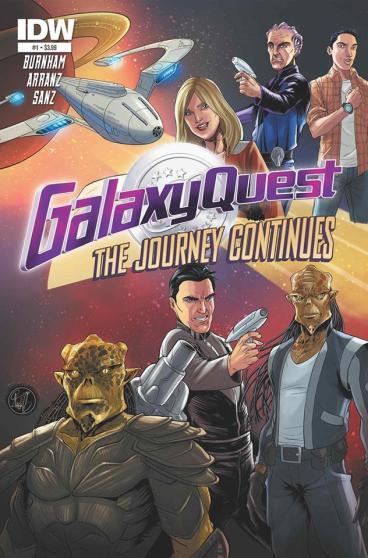 Galaxy Quest SDCC 2014