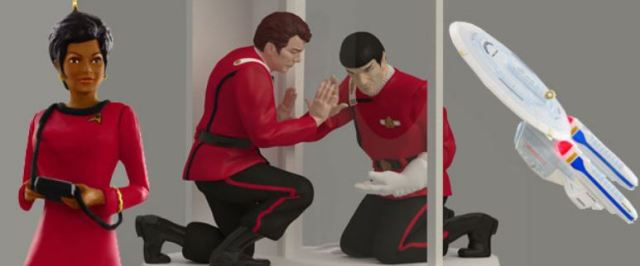 Hallmark Star Trek ornaments at SDCC 2014