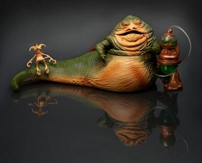 Hasbro 2014 SDCC Jabba playset