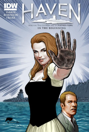 Haven comic book cover Audrey